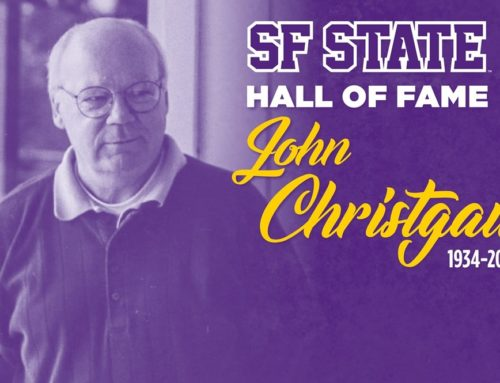 San Francisco State Athletics Mourns Passing of Hall of Famer John Christgau